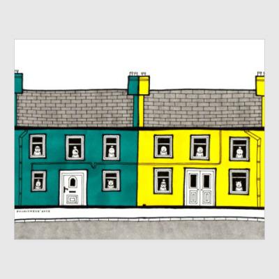 Постер English houses