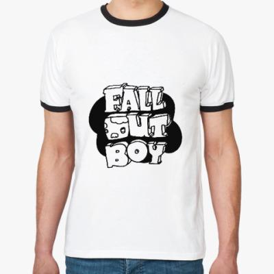 Футболка Ringer-T Fall Out Boy