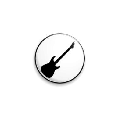 Значок 25мм  Гитара ESP