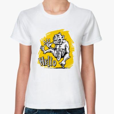 Классическая футболка Hello