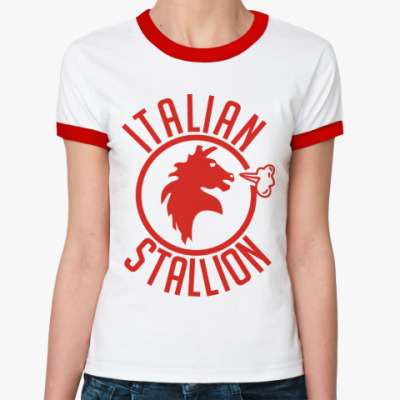Женская футболка Ringer-T Rocky