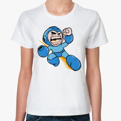 Классическая футболка Мегамен