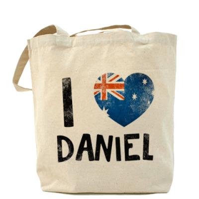 Сумка I LOVE DANIEL