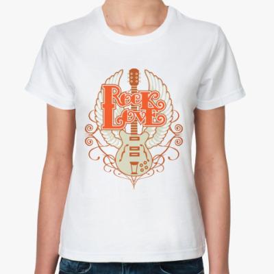 Классическая футболка Rock Love
