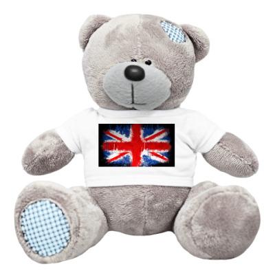 Плюшевый мишка Тедди Британский флаг