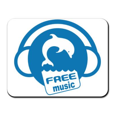 Коврик для мыши Free Music