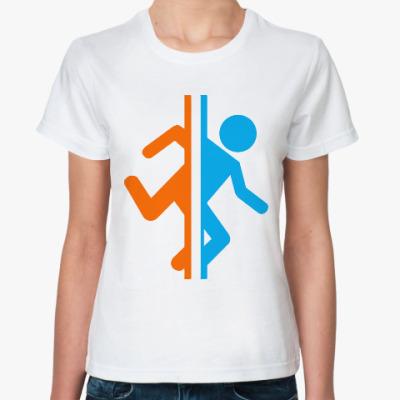 Классическая футболка Портал