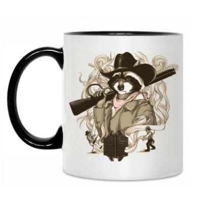 Кружка Енот-шериф