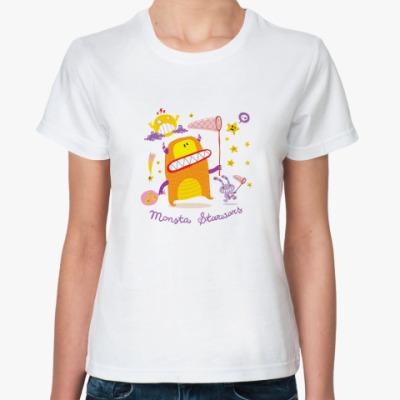 Классическая футболка MonStar Wars
