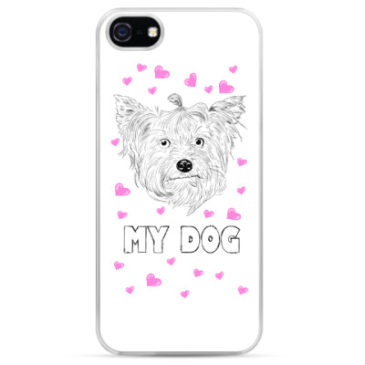Чехол для iPhone Love my dog