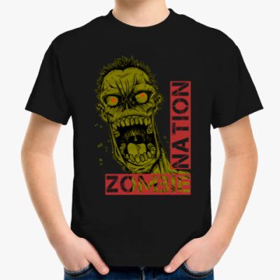 Детская футболка Нация зомби