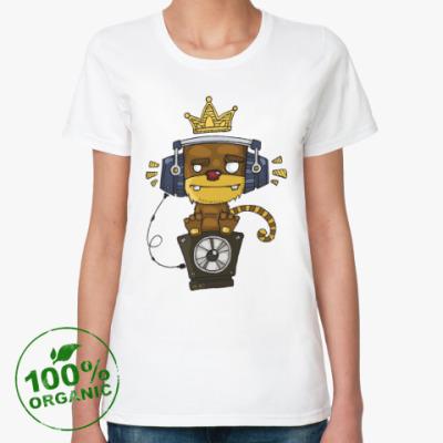 Женская футболка из органик-хлопка Funky Monkey