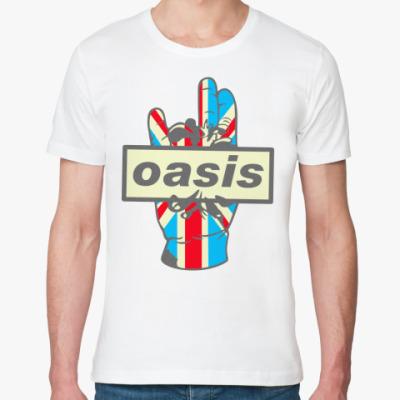 Футболка из органик-хлопка Oasis