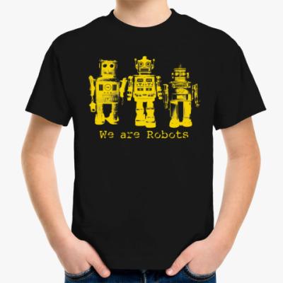 Детская футболка Роботы