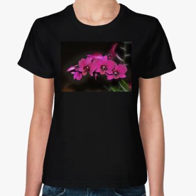 Женская футболка Орхидеи