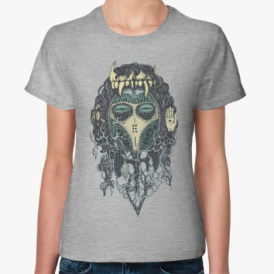 Женская футболка Mask Totemia