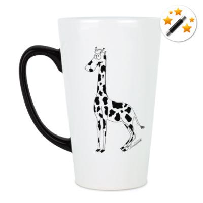 Кружка-хамелеон Жираффа