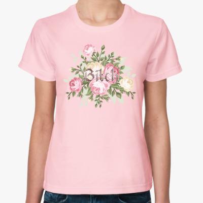 Женская футболка Bitch