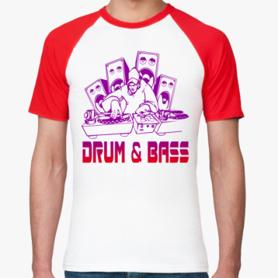 Футболка реглан Drum & Bass