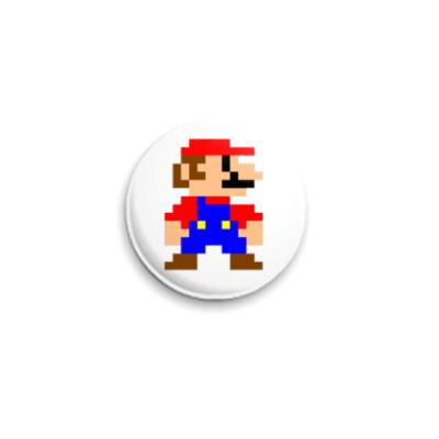 """Значок 25мм """"Mario""""  25 мм"""