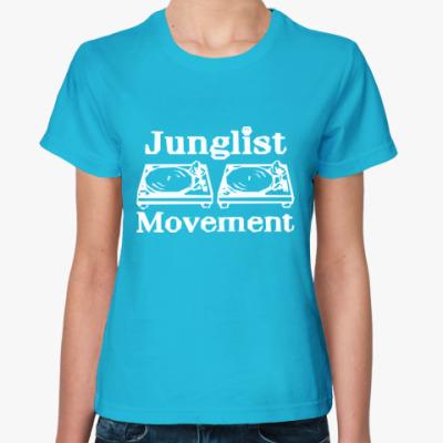 Женская футболка Junglist Movement