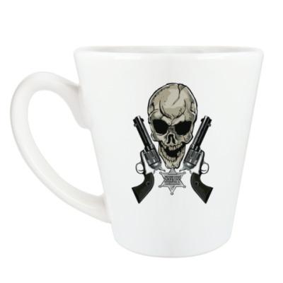 Чашка Латте шериф