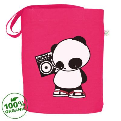 Сумка Панда с магнитофоном