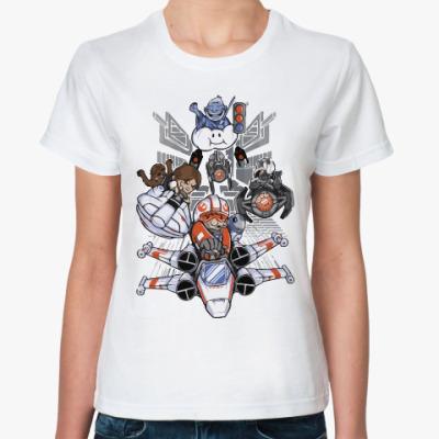 Классическая футболка Звездные Войны (Star Wars)