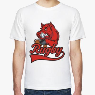 Футболка Регби Rugby Мяч для Регби