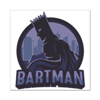 Наклейка (стикер) Bartman