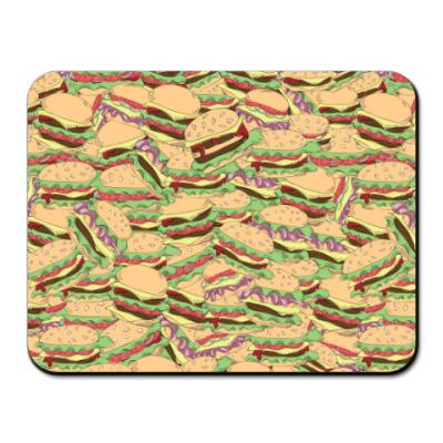 Коврик для мыши Гамбургеры