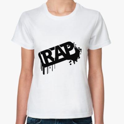 Классическая футболка Rap