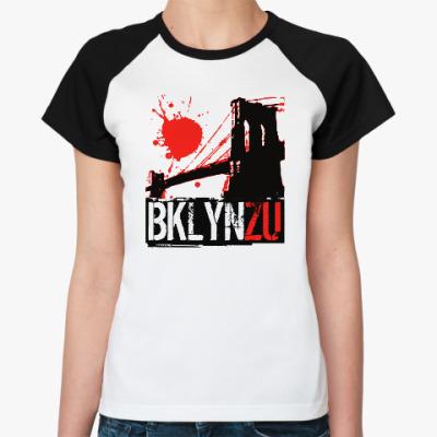 Женская футболка реглан Brooklyn Zu