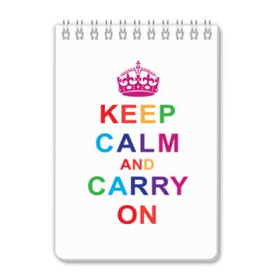 Блокнот Keep Calm