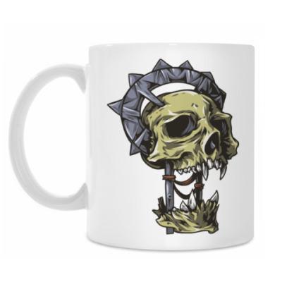 Кружка Череп скелет зомби монстр