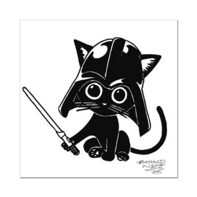 Наклейка (стикер) dart meow