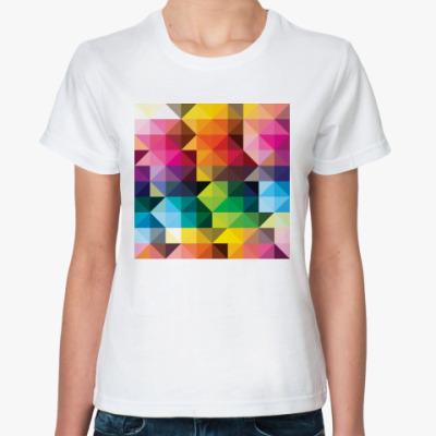 Классическая футболка Треугольники