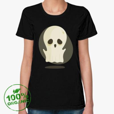 Женская футболка из органик-хлопка Приведение