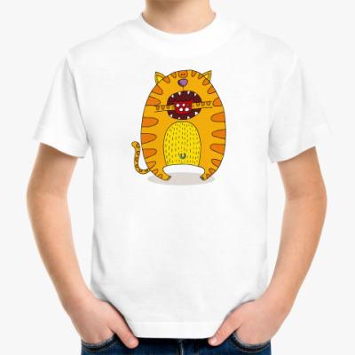 Детская футболка 'Батон с колбасой'
