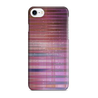 Чехол для iPhone 7/8 Космос в полоску