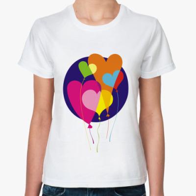 Классическая футболка Шарики