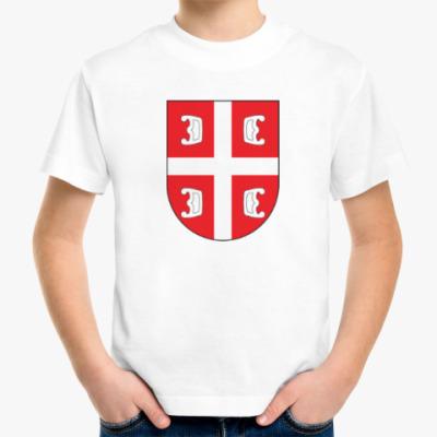 Детская футболка Сербский щит
