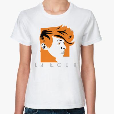 Классическая футболка   LA ROUX