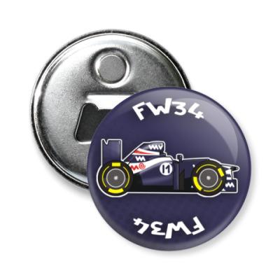 Магнит-открывашка FW34