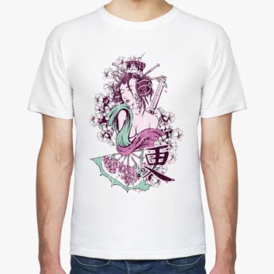 Футболка  Цветение сакуры