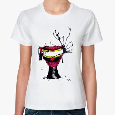 Классическая футболка Слюнявые губы