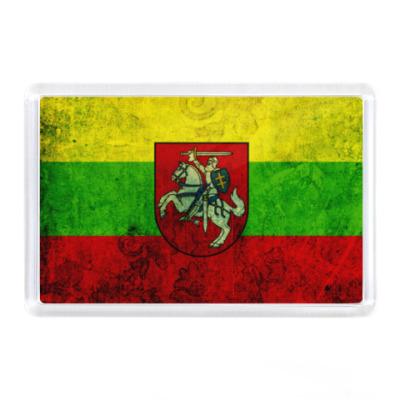 Магнит Литва, флаг