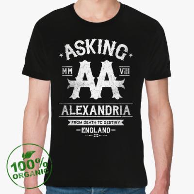 Футболка из органик-хлопка Asking Alexandria