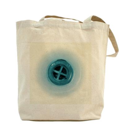 Холщовая сумка Кнопка слива