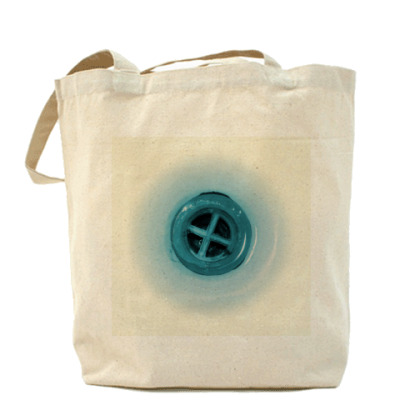 Сумка Холщовая сумка Кнопка слива